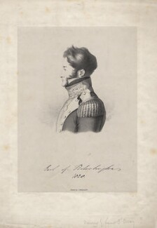 John Dawson, 2nd Earl of Portarlington, by Alfred, Count D'Orsay - NPG D5547