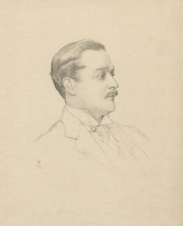 William Arthur Cavendish-Bentinck, 6th Duke of Portland, after (Marion Margaret) Violet Manners (née Lindsay), Duchess of Rutland - NPG D5550
