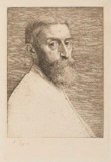 Sir Edward John Poynter, 1st Bt, by Alphonse Legros, published 1877 - NPG D5553 - © National Portrait Gallery, London