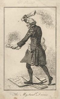 Joseph Priestley ('The Mystical Divine'), by 'Annabal Scratch' - NPG D5555