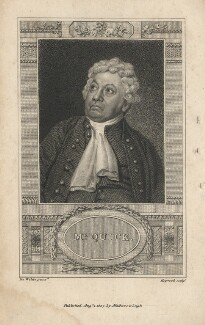 John Quick, by James Hopwood Sr, published by  Mathews & Leigh, after  Samuel De Wilde - NPG D5572