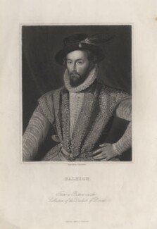 Sir Walter Ralegh (Raleigh) (Raleigh), by James Posselwhite - NPG D5579