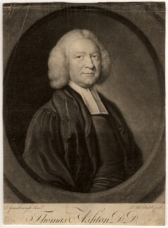 Thomas Ashton, by James Macardell, after  Thomas Gainsborough - NPG D558