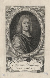 John Ray, by William Elder, after  William Faithorne - NPG D5591