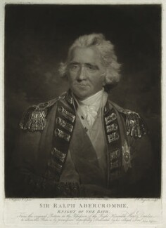 Sir Ralph Abercromby, by Samuel William Reynolds, after  John Hoppner - NPG D5603