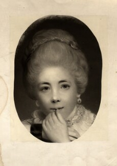 Frances Abington (née Barton), after Sir Joshua Reynolds - NPG D5611