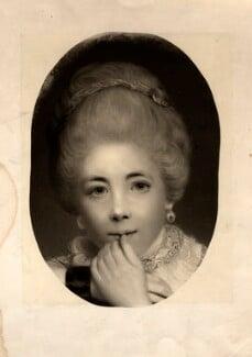 Frances Abington (née Barton), after Sir Joshua Reynolds, published 1876 - NPG D5611 - © National Portrait Gallery, London