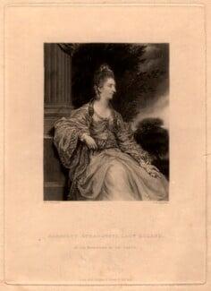 Lady Christian Henrietta Caroline ('Harriet') Acland (née Fox, Fox-Strangways), by Samuel William Reynolds, after  Sir Joshua Reynolds, published 1838 - NPG D5612 - © National Portrait Gallery, London