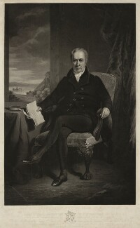 William Adam, by John P. Quilley, after  Colvin Smith - NPG D5614
