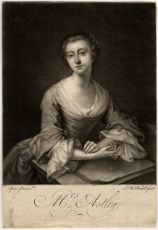 Rhoda (née Delaval), Lady Astley, by James Macardell, after  Rhoda (née Delaval), Lady Astley - NPG D562
