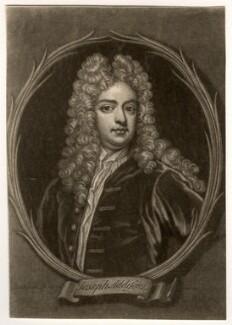 Joseph Addison, after Sir Godfrey Kneller, Bt - NPG D5620