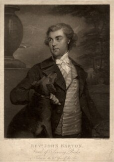 John Barton, by Samuel William Reynolds, after  Prince Hoare - NPG D5621