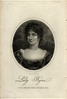 Anne Isabella, Lady Byron, by R. Page, published by  Dean & Munday - NPG D5631