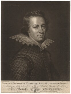 William Drummond of Hawthornden, by John Finlayson, after  Abraham van Blyenberch - NPG D5633