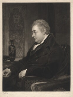 Sir Henry Charles Englefield, 7th Bt, by Charles Turner, after  Thomas Phillips - NPG D5640