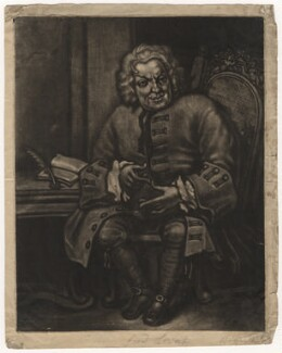 Simon Fraser, 11th Lord Lovat, after William Hogarth - NPG D5647