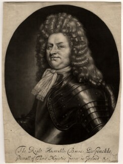 Godard van Reede-Ginckel, 1st Earl of Athlone, by Robert Williams, after  Thomas Hill - NPG D565