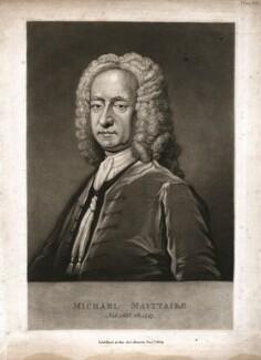 Michael Maittaire, by William Say, after  Bartholomew Dandridge - NPG D5666
