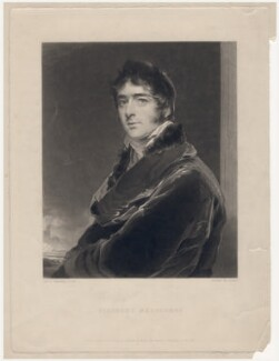 William Lamb, 2nd Viscount Melbourne, by Edward McInnes, published by  Hodgson & Graves, after  Sir Thomas Lawrence, published 1 October 1839 (circa 1805) - NPG D5673 - © National Portrait Gallery, London