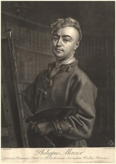 Philip Mercier, by John Faber Jr, after  Philip Mercier - NPG D5677