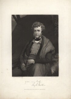 Hugh Miller, by John Sartain, after  William Bonnar - NPG D5682