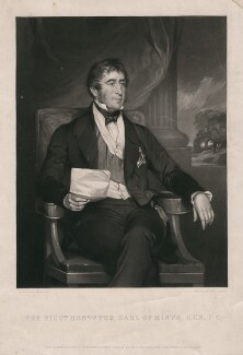 Gilbert Elliot Murray Kynynmound, 2nd Earl of Minto, by George Zobel, after  Sir Francis Grant - NPG D5690
