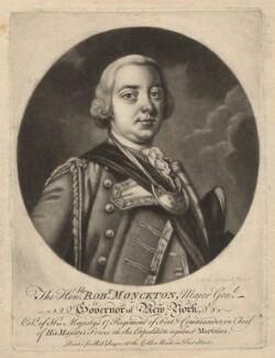 Robert Monckton, by Charles Spooner, printed for  Robert Sayer, after  Thomas Hudson - NPG D5696