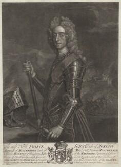 John Montagu, 2nd Duke of Montagu, by John Faber Jr, after  Michael Dahl - NPG D5698