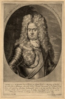 Godard van Reede-Ginckel, 1st Earl of Athlone, by Pieter Schenck, 1703 - NPG D570 - © National Portrait Gallery, London