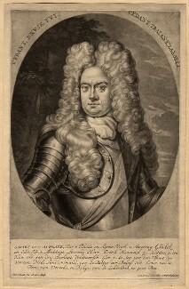Godard van Reede-Ginckel, 1st Earl of Athlone, by Pieter Schenck - NPG D570