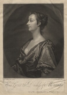 Mary Montagu (née Churchill), Duchess of Montagu, by and sold by John Faber Jr, after  Sir Godfrey Kneller, Bt - NPG D5700