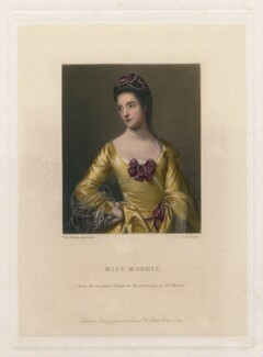 Mary Morris, by George H. Every, after  Sir Joshua Reynolds - NPG D5710