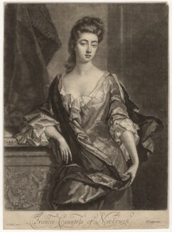Frances (née Brudenell), Countess of Newburgh, by William Wilson, published by  Edward Cooper, after  Michael Dahl - NPG D5712