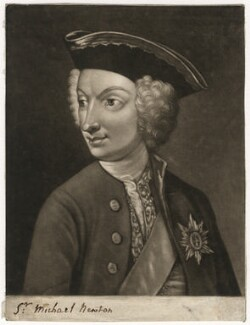 Sir Michael Newton, 4th Bt, by William Humphrey, after  Unknown artist - NPG D5722