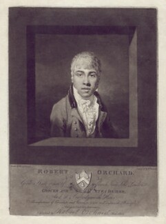Robert Orchard, by William Barnard, published by  Robert Orchard, after  David Gowers - NPG D5723