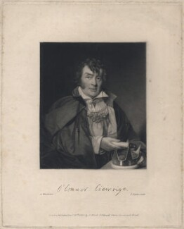 Roger O'Connor, by and published by Abraham Wivell - NPG D5734