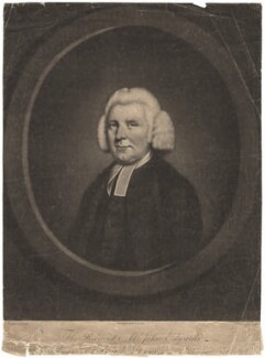 John Edwards, by James Watson, published by  Carington Bowles, after  John Russell - NPG D5743