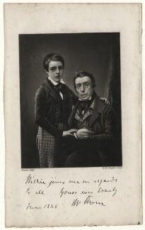 Mr Thom; Willie Thom, by Robert Moore Hodgetts, after  Antoine Claudet - NPG D5760