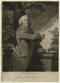 James Worsdale, by William Dickinson, after  Robert Edge Pine - NPG D5764