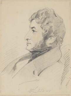 Richard James Lane, by Edward Hodges - NPG D5766