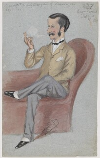 Henry Charles Keith Petty-Fitzmaurice, 5th Marquess of Lansdowne, by Sir Leslie Ward - NPG D5767