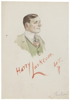 Probably Wilfred Forster as Harry Larkcom, by H.P. - NPG D5768