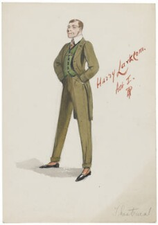 Probably Wilfred Forster as Harry Larkcom, by H.P. - NPG D5769