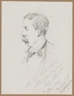 Sir Thomas Johnstone Lipton, 1st Bt, by T. Robinson - NPG D5777