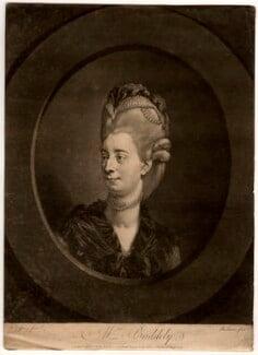 Sophia Baddeley (née Snow), by Robert Laurie, after  Johan Joseph Zoffany - NPG D578
