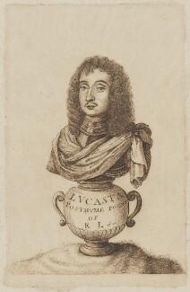 Richard Lovelace, after Francis Lovelace, after  Wenceslaus Hollar - NPG D5780