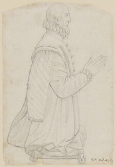 Gregory Lovell, by G.B., after  Unknown sculptor - NPG D5781