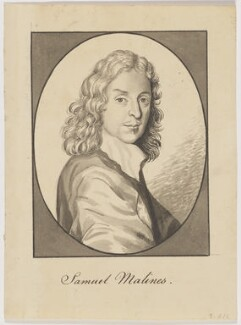 Samuel Malines, after Pierre Lombart, after  William Wolfgang Claret - NPG D5787