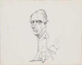 Anthony Eden, 1st Earl of Avon, by David Levine - NPG D58
