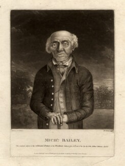 Michael Bailey, by William Florio, after  John Arthur Cahusac - NPG D580
